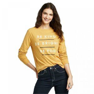 Be kind Be Bright Be you Long Sleeve T-Shirt